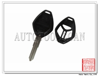for Mitsubishi 3 Button Remote Key Shell With Logo Left Blade Type [ AS011013 ]