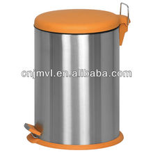 Progressive International Orange PS matt polish powder coating eco waste bins