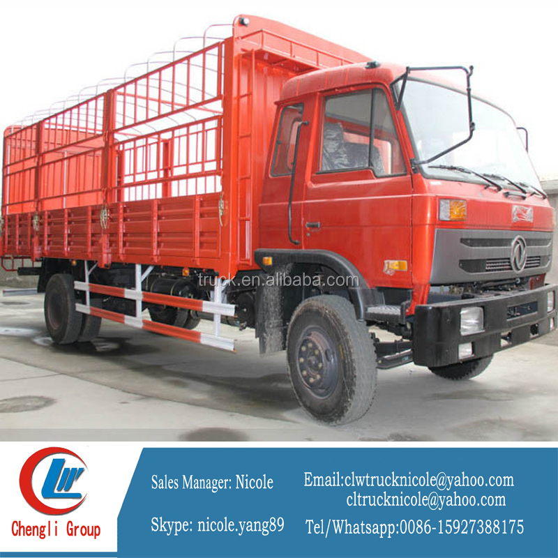 4*2 stake body truck for animal, wing body van truck