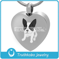 Pretty Dog Always With Me Urn Ribbon Heart Gemstone Always in My Heart Cremation Pendant Gold Pet Urn Ash Cremation Jewelry