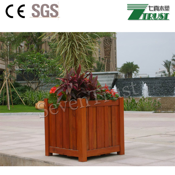 WPC flower boxes /wood plastic composite/waterproof composite wood
