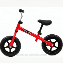 EVA wheels 12inch baby Racing bike balance bike for kids popular/ no foot pedal driving bike kid