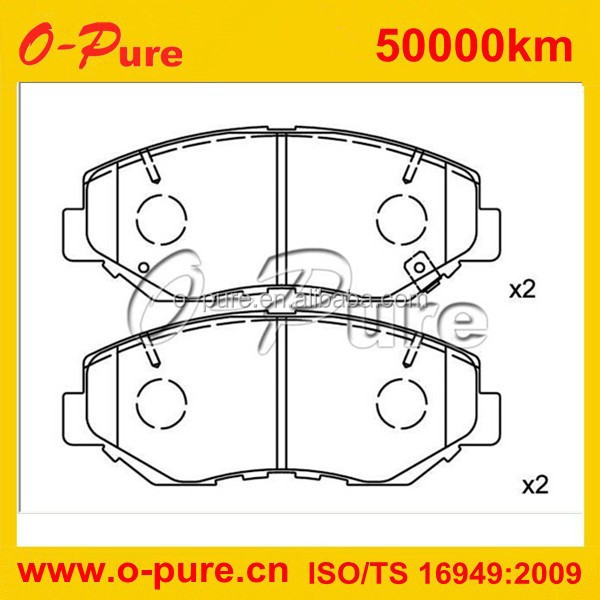 High performance car spare parts with friction line D52-728A for Jeep Checker motors for CADILLAC for GMC truck for CHEVROLET fo