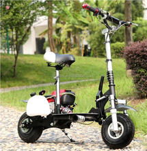 EEC/EPA DOT Approved 49cc Gas Motor Scooter