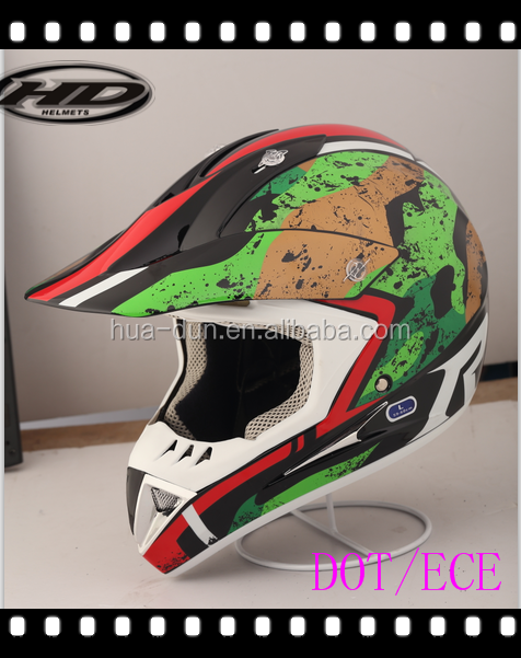 HD-802 wholesale cascos motocross with DOT ECE certification