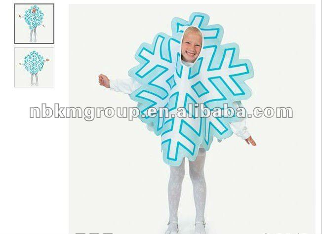 Snowflake Child Carnival Costume