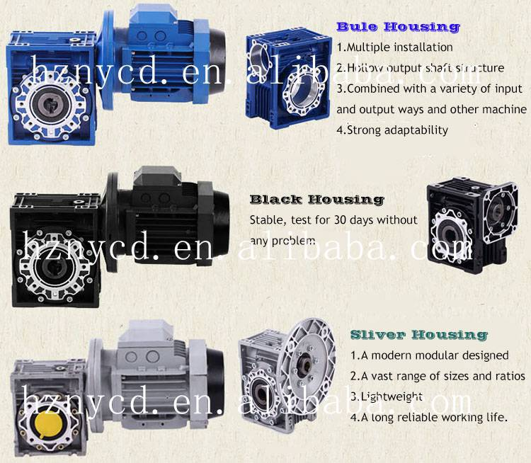 High performance industrial power transmission casting iron gearbox