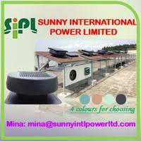 portable (solar) panel power system Air Conditioning no power roof ventilation fan cooler roof top ventilation fan