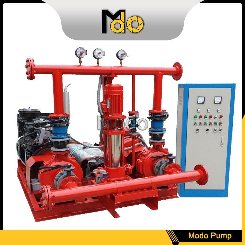 100 hp double suction diesel engine water pump