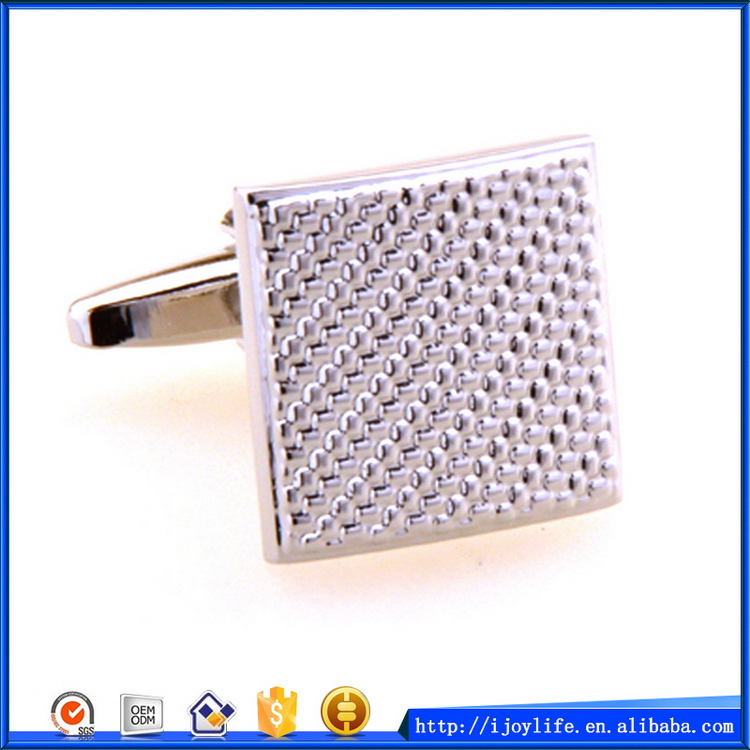 New stylish sterling silver cufflink findings