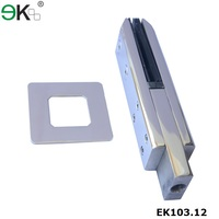 Stainless steel square spigot for hospital handrail