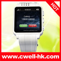 1.54 Inch Touch Screen Unlocked Quad band GSM 1.3MP Camera Bluetooth low cost mobile watch phone PS-TW120