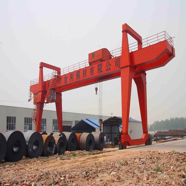 top quality traveling doule girder gantry crane