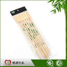 Disposable bbq heart-shaped bamboo skewers