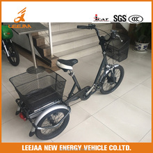wholesale electric bicycle with 3 wheels e bike with 3 wheels for CE certificated electric bike with three wheels