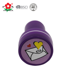 custom plastic mini stamp toys for kids