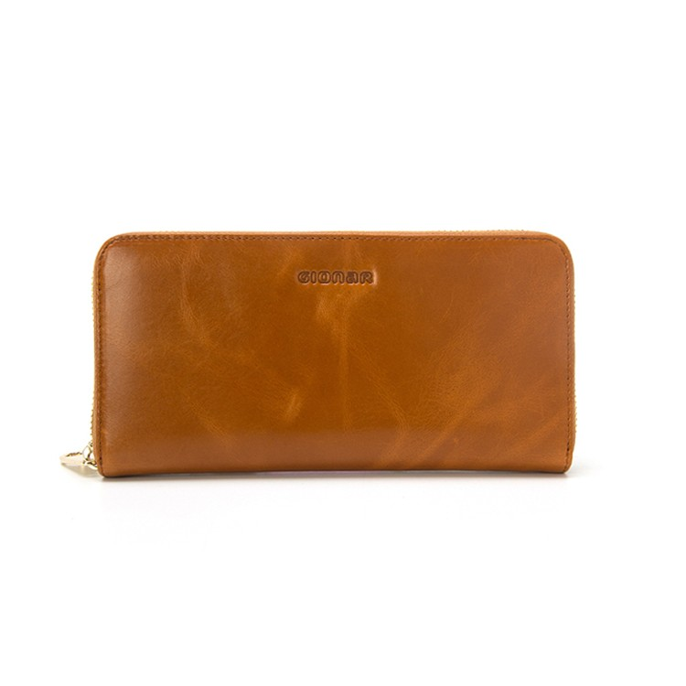 Wholesale Genuine Leather High Quality with Low Price Ladies Paris Hand Wallet