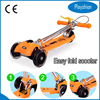 2015 new design 3 wheeled scooter for kids scooters with 3 wheels