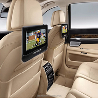 7 inch screen Universal Headrest car DVD Player with USB/SD inputs for digital media