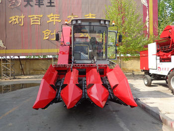 4YZ-3A head feed combine harvester for corn