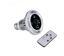 P2P /WIFI Bulb camera/hidden camera light bulb / hidden camera for lighting and DVR