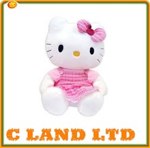 Lovely and cheap pink plush hello kitty