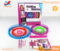 Plastic Loom Knitting Machine Toys For Children Play Weaving Loom Knitting Loom