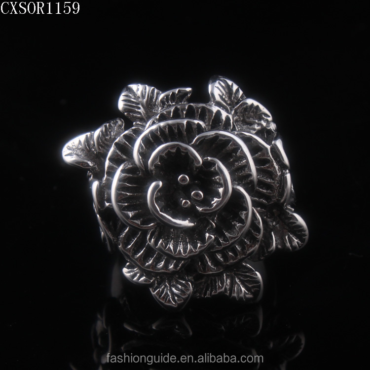 Big Flower Women Ring