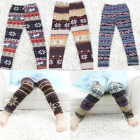 New arrival fur thermo warm thick legging for Girls