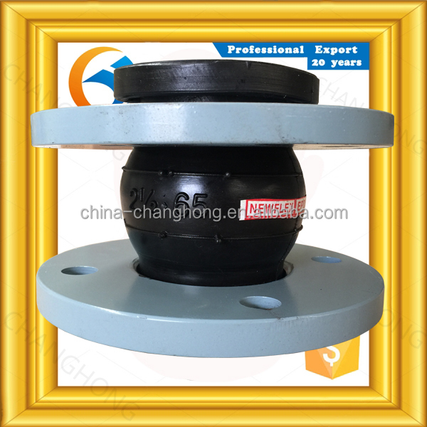 natural rubber concentric reducing rubber expansion joint for valves