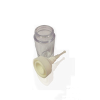 Dropper Pipe Clear Glass Essential Oil Bottle