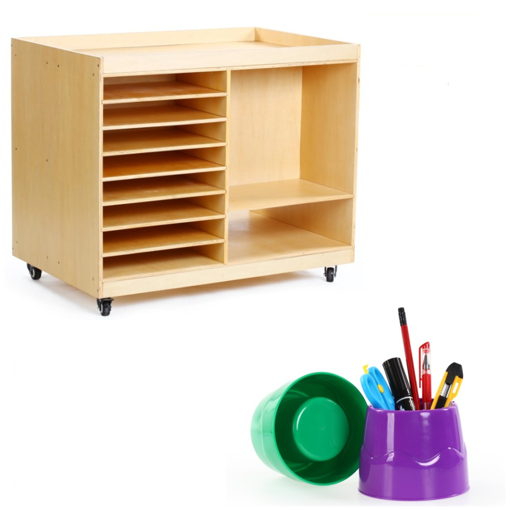 Factory direct sale good quality plywood preschool furniture school sets wooden kids school furniture
