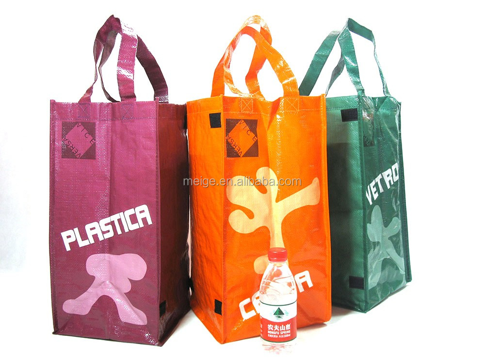 Cycle use waste collection RPET bag