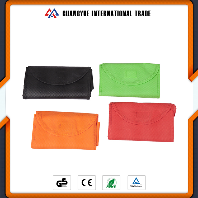 Guangyue Wholesale Custom Colorful Cheap Price Reusable Foldable Non Woven Shopping Bag