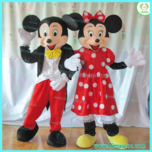 HI CE Movie character mickey &minnie mascot costume,inflatable cartoon mouse costume for sale
