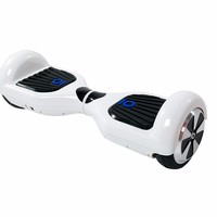 S1 White 2 wheel self balancing mini kick scooter