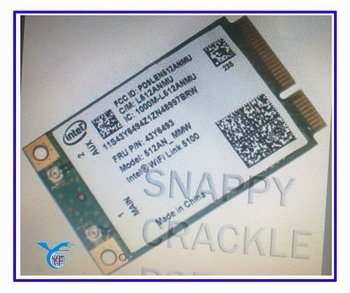 T400 Wireless intel wifi link wifi card 5100 43Y6493 model : 512AN_MMW