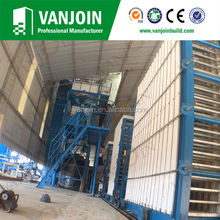 Eps cement one key control sound insulation sandwich panel production line
