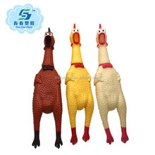 Classic style scream chicken vinyl toy for kids/pets
