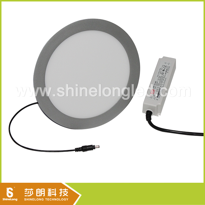 Round square led panel light 3w 5W 12W 15W 18W ceiling kitchen light