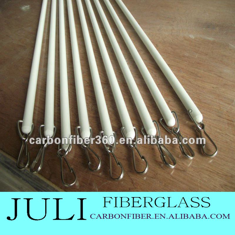 fiberglass frp grp Material and Curtain Accessories Curtain Poles, Tracks & Accessories Type curtain rod