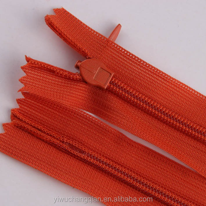 red color tape strong teeth close end zipper manufacturer for jeans