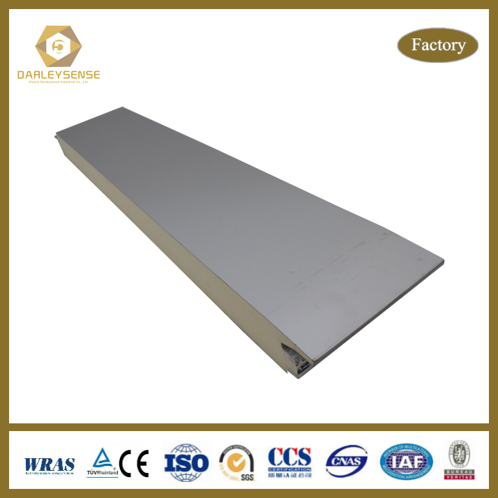 Economical polyurethane wall & roof sandwich panel Manufactured in China