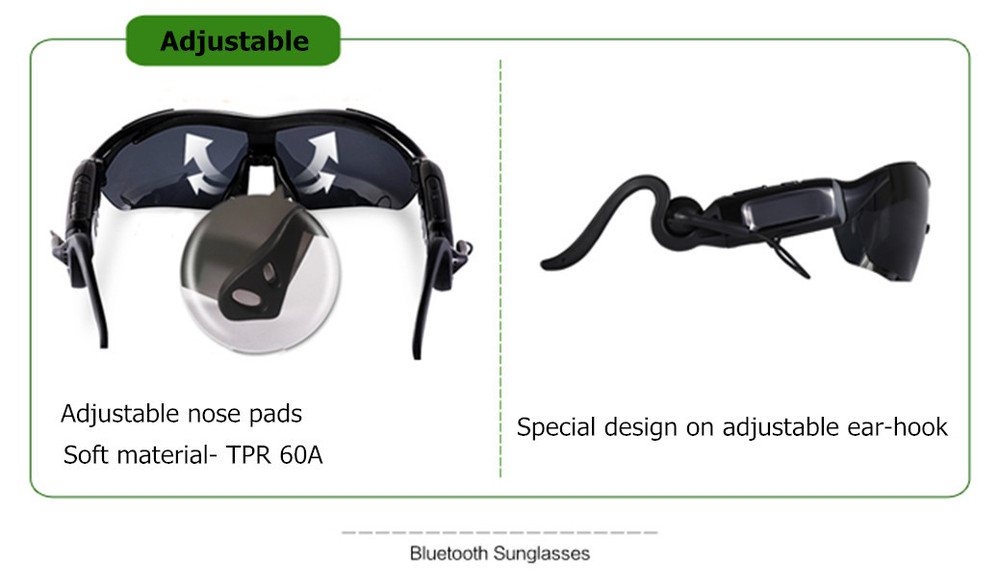 Digital mp3 eyeglasses with bluetooth MP3 function