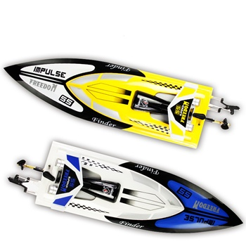 Great Market Demand Yellow And White WL912 High Speed  Radio Control Boat 25km/h