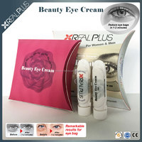 Low price wholesale saggy eye and under eye bags remedy raw materials made REAL PLUS beauty eye cream