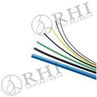 25mm Stretch plastic tubing / heat resistant plastic tubing/heat shrinkable braided sleeving