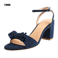 Elegant Chunky heel woman sandals for hot-selling PL0451