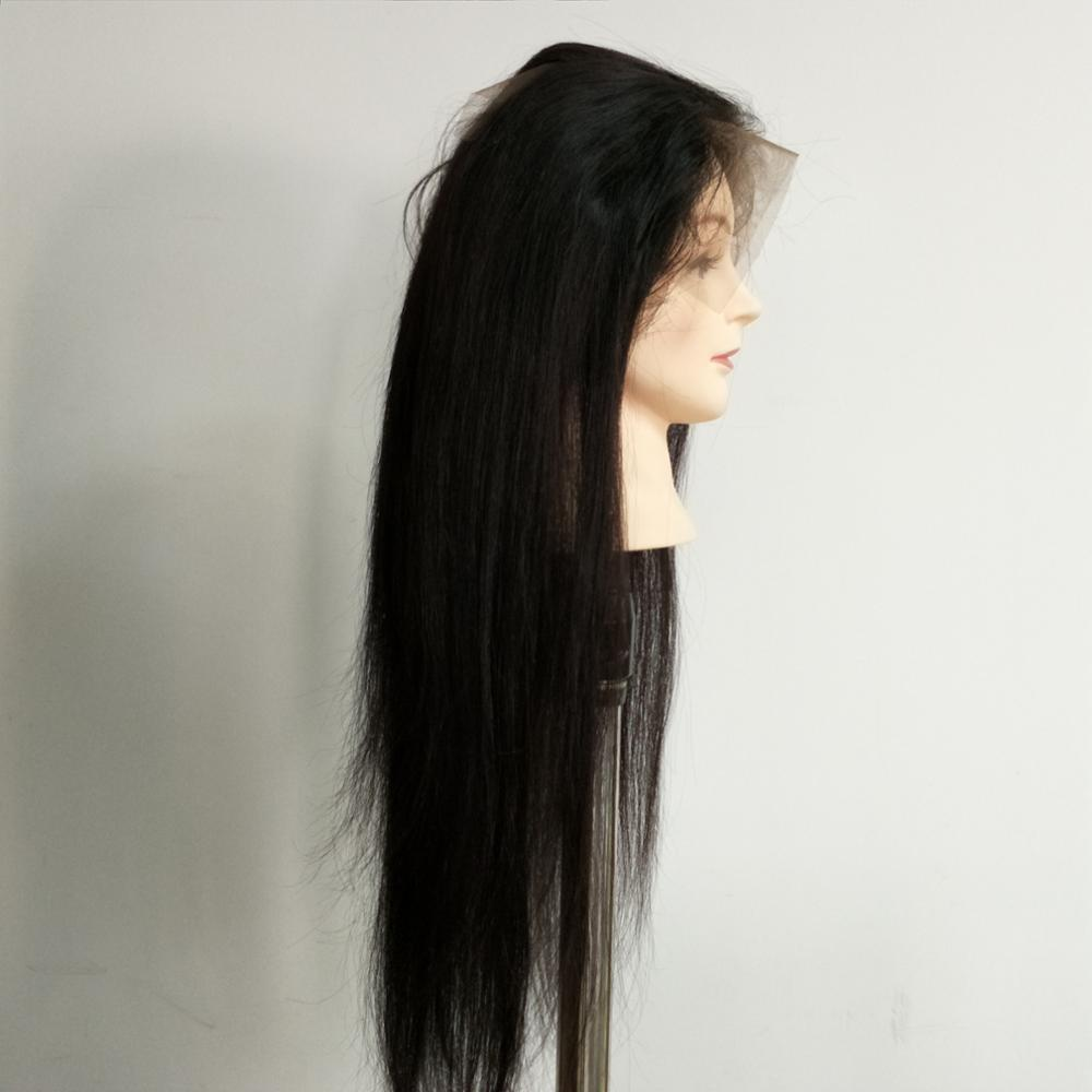 brazilian human hair full lace wig with baby hair,the lace human hair wigs for black women