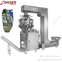 Wide Application Puffed Food Snack Candy Small Biscuit Rice Vegetables Mushroom 10 Heads Combination Weigher Packing Machine